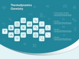 Thermodynamics Chemistry Ppt Powerpoint Presentation Slides Deck