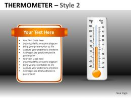 Thermometer 2 Powerpoint Presentation Slides DB