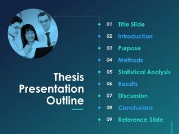 Thesis Presentation Outline Ppt Designs