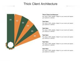 Thick Client Architecture Ppt Powerpoint Presentation Pictures Portfolio Cpb