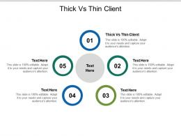 Thick Vs Thin Client Ppt Powerpoint Presentation Infographics Picture Cpb