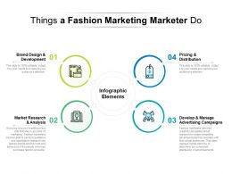 Things A Fashion Marketing Marketer Do