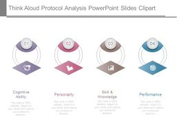 Think Aloud Protocol Analysis Powerpoint Slides Clipart