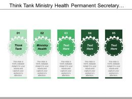 Think Tank Ministry Health Permanent Secretary International Donors