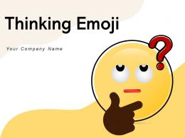 Thinking Emoji Boring Covered Confused Business Puzzles Shape Smartphone