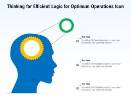 Thinking For Efficient Logic For Optimum Operations Icon