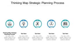 Thinking Map Strategic Planning Process Ppt Powerpoint Inspiration Microsoft Cpb