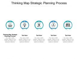Thinking Map Strategic Planning Process Ppt Powerpoint Inspiration Microsoft Cpb