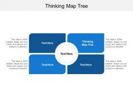 Thinking Map Tree Ppt Powerpoint Presentation Infographic Template Designs Cpb