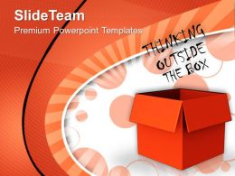 Thinking Outside The Box Business Powerpoint Templates Ppt Themes And Graphics 0113