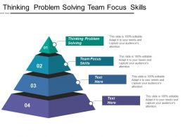 Thinking Problem Solving Team Focus Skills Flexibility Pragmatism
