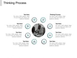 Thinking Process Ppt Powerpoint Presentation File Inspiration Cpb
