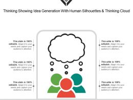 Thinking Showing Idea Generation With Human Silhouettes And Thinking Cloud