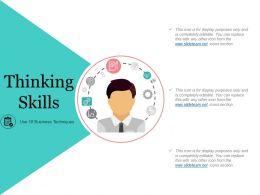 Thinking Skills Powerpoint Slide Rules