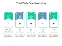 Third Party Email Marketing Ppt Powerpoint Presentation Slides Influencers Cpb