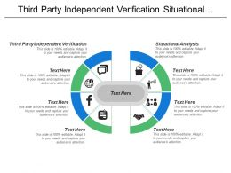 Third Party Independent Verification Situational Analysis Marketing Research