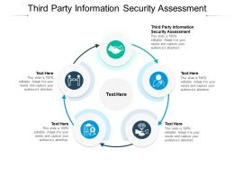 Third Party Information Security Assessment Ppt Powerpoint Ideas Images Cpb