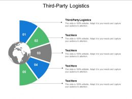 Third Party Logistics Ppt Powerpoint Presentation Icon Outline Cpb
