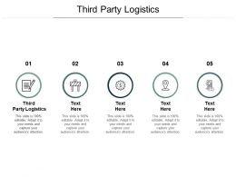 Third Party Logistics Ppt Powerpoint Presentation Portfolio Backgrounds Cpb