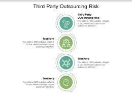 Third Party Outsourcing Risk Ppt Powerpoint Presentation Slides Picture Cpb