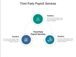 Third Party Payroll Services Ppt Powerpoint Presentation Inspiration Slides Cpb