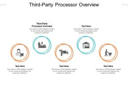 Third Party Processor Overview Ppt Powerpoint Presentation Ideas Tips Cpb