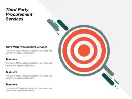 Third Party Procurement Services Ppt Powerpoint Presentation Icon Guidelines Cpb