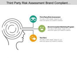 third party risk assessment brand compliant marketing program cpb