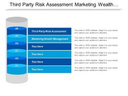Third Party Risk Assessment Marketing Wealth Management Operational Agility Cpb