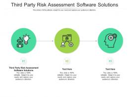 Third Party Risk Assessment Software Solutions Ppt Powerpoint Lists Cpb