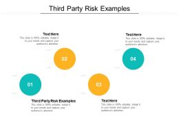 Third Party Risk Examples Ppt Powerpoint Presentation Inspiration Design Inspiration Cpb