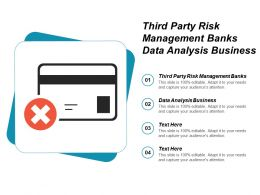 Third Party Risk Management Banks Data Analysis Business Cpb