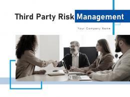 Third Party Risk Management Procedure Process Planning Transformation Assessment Execution