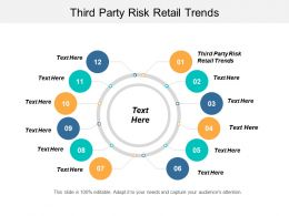 Third Party Risk Retail Trends Ppt Powerpoint Presentation File Example Cpb