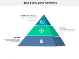 Third Party Risk Statistics Ppt Powerpoint Presentation Model Picture Cpb