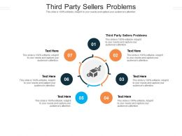 Third Party Sellers Problems Ppt Powerpoint Presentation Pictures Styles Cpb