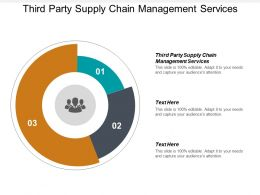 Third Party Supply Chain Management Services Ppt Powerpoint Presentation Professional Skills Cpb