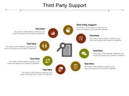 Third Party Support Ppt Powerpoint Presentation Portfolio Shapes Cpb