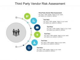 Third Party Vendor Risk Assessment Ppt Powerpoint Presentation Graphics Cpb