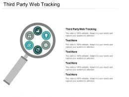 Third Party Web Tracking Ppt Powerpoint Presentation Ideas Styles Cpb
