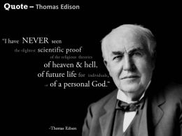 Thomas Edison Innovation Quote Slide 0214