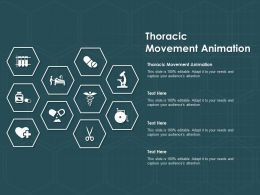 Thoracic Movement Animation Ppt Powerpoint Presentation Infographics Professional
