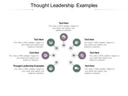 Thought Leadership Examples Ppt Powerpoint Presentation Styles Graphics Example Cpb