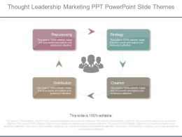 Thought Leadership Marketing Ppt Powerpoint Slide Themes