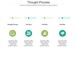Thought Process Ppt Powerpoint Presentation Portfolio Styles Cpb