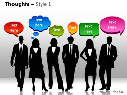 Thoughts Style 1 PPT 1