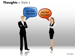 Thoughts style 1 PPT 2