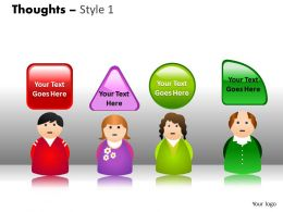 Thoughts style 1 PPT 4