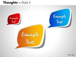 Thoughts Style 2 PPT 2