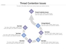 Thread Contention Issues Ppt Powerpoint Presentation Ideas Graphic Tips Cpb